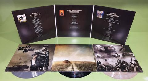 mad max soundtrack lps