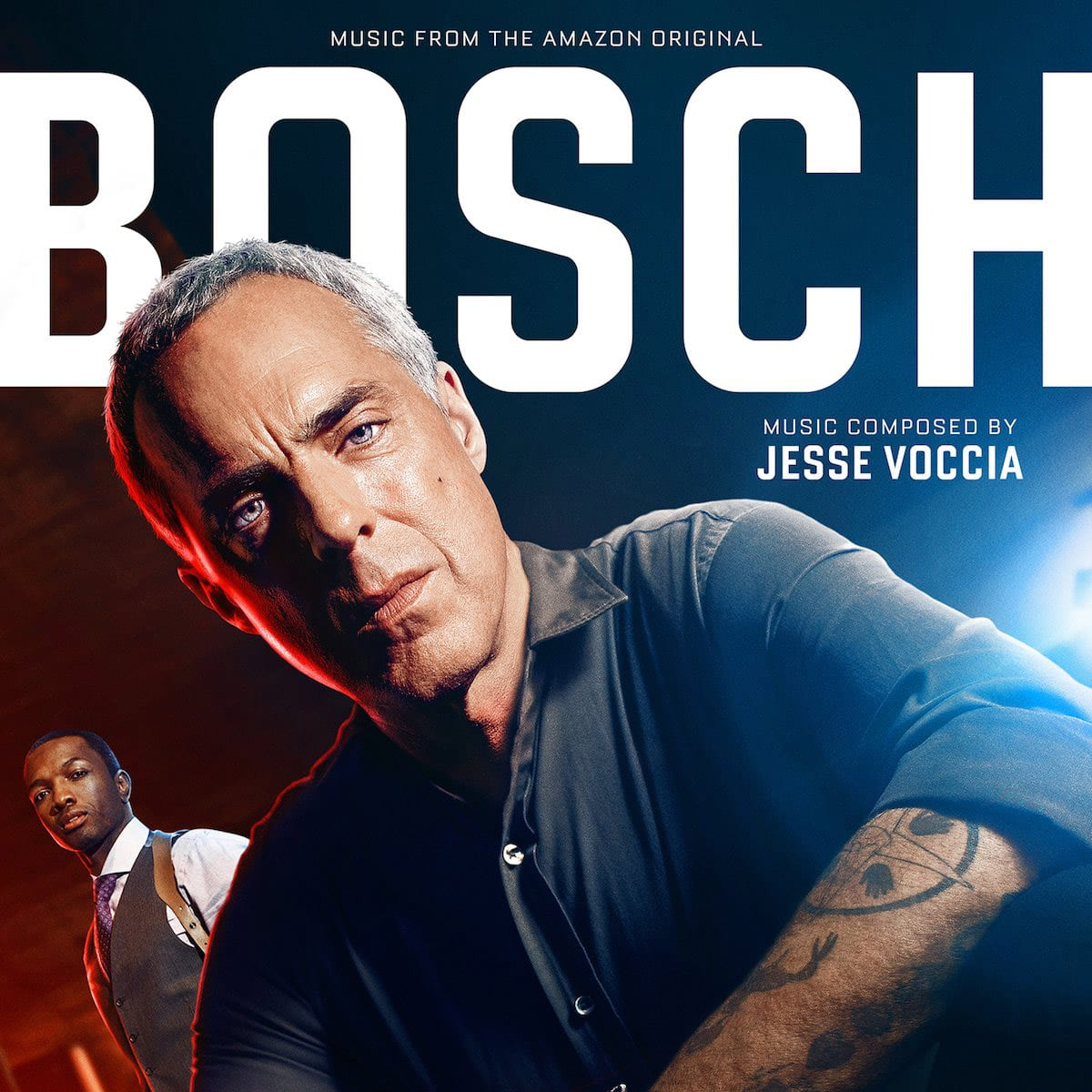 Bosch (S1,2,3) soundtrack by Jesse Voccia released