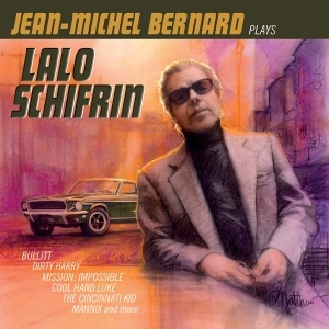 A new studio recording of Jean-Michel Bernard plays Lalo Schifrin will be be available digitally and on CD October 6, 2017.