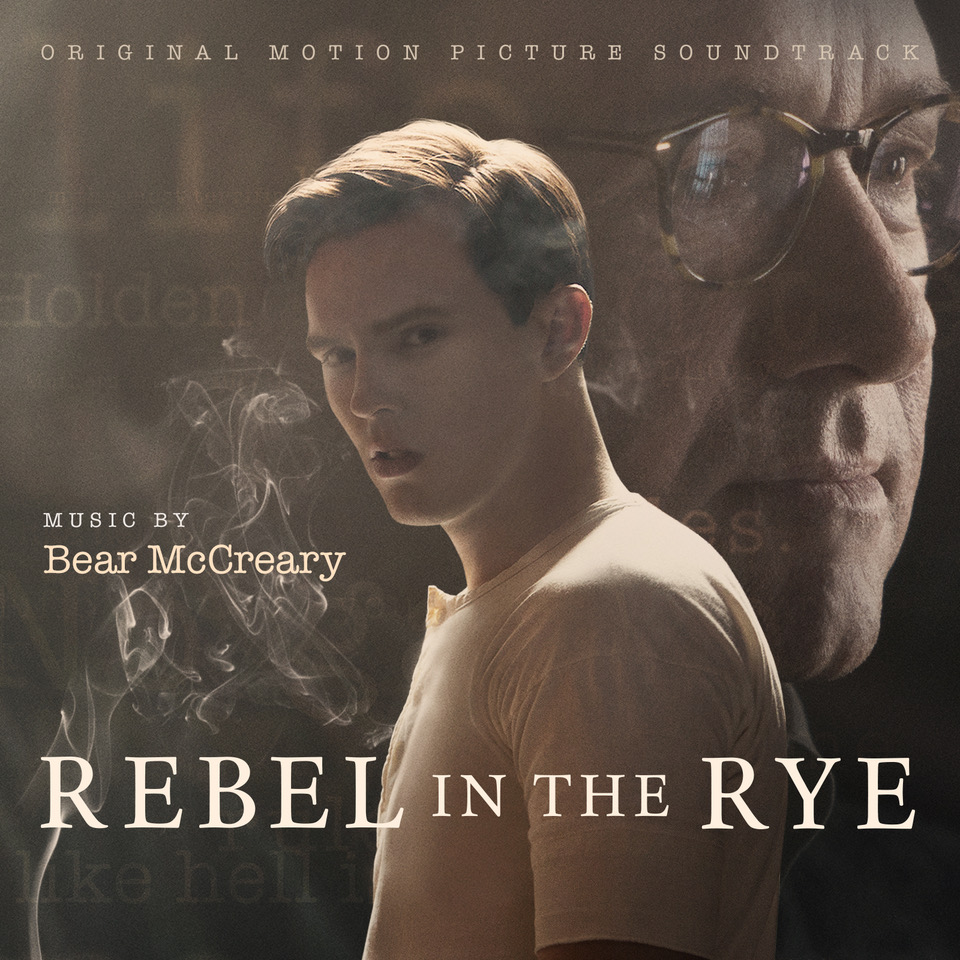 Rebel in the Rye soundtrack by Bear McCreary out soon
