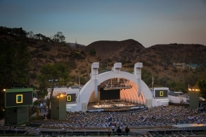 The legendary Hollywood Bowl.