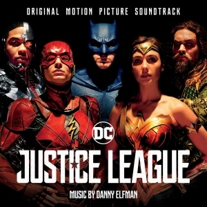 The 27-track Justice League soundtrack will be released November 10.